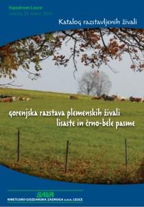 katalog razstavljenih govedi 2009